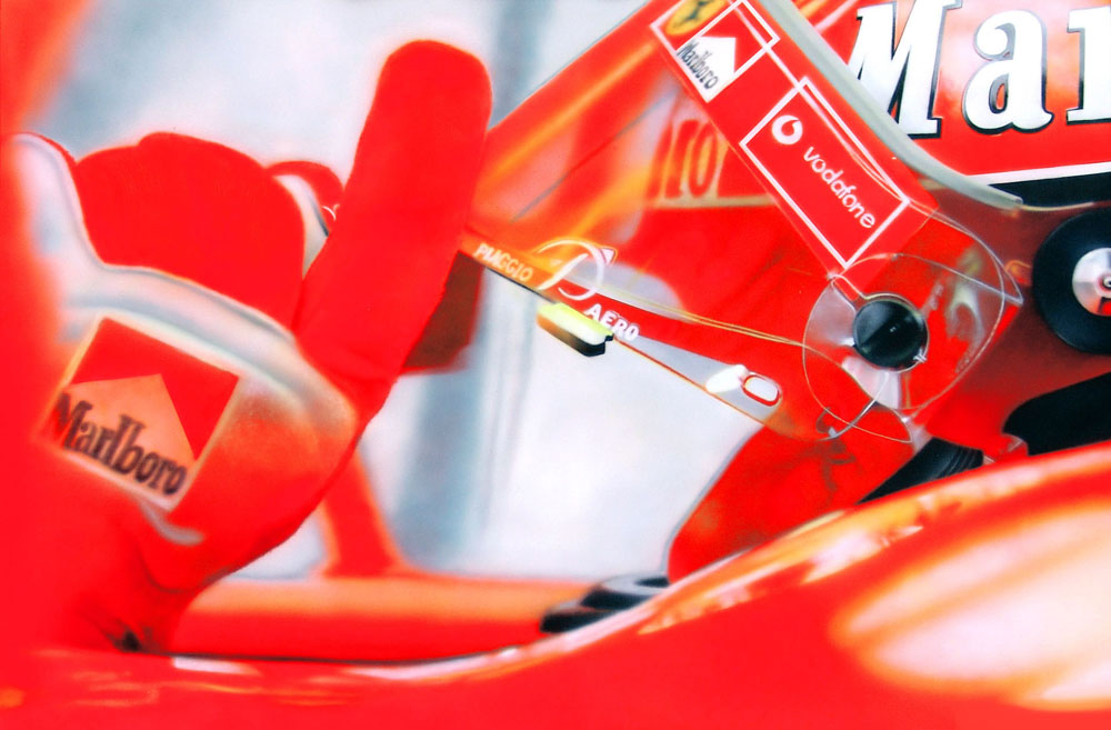 Michael Schumacher ready to go by damir-g-martin