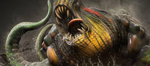 DinoMonsters: Turtasaurus by damir-g-martin