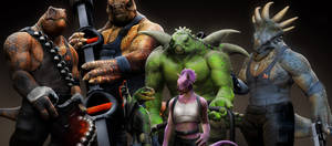 DinoMonsterz Crew