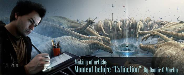 Moment before 'Extinction' tut by damir-g-martin