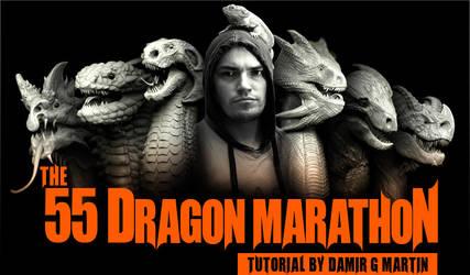 55 Dragons Design Marathon Tut by damir-g-martin