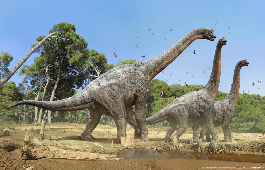 Brachiosaurus by damir-g-martin