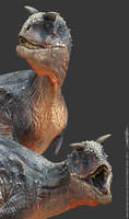 New Carnotaurus Preview by damir-g-martin