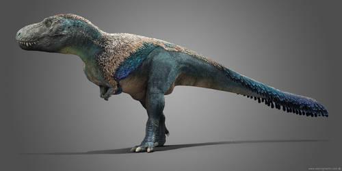 Male Tyrannosaurus by damir-g-martin