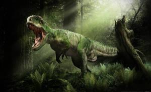 Giganotosaurus dark forest version by damir-g-martin