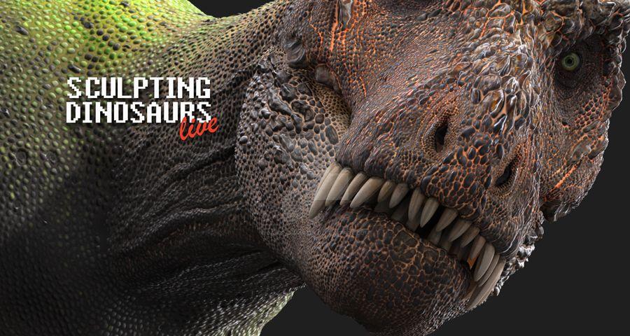 Sculpting Dinosaurs by damir-g-martin
