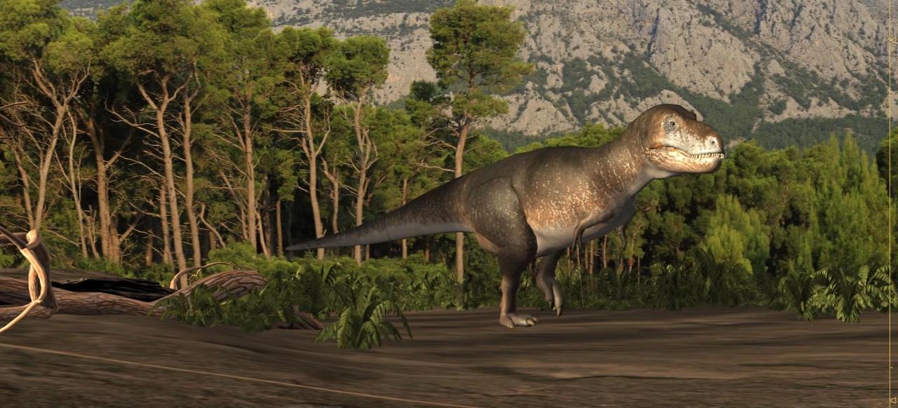 Animation wip with Tarbosaurus by damir-g-martin