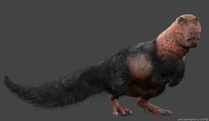 Tyrannosaurus rex latest concept by damir-g-martin