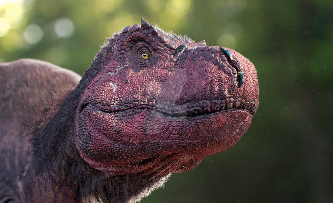 Tyrannosaurus rex by damir-g-martin