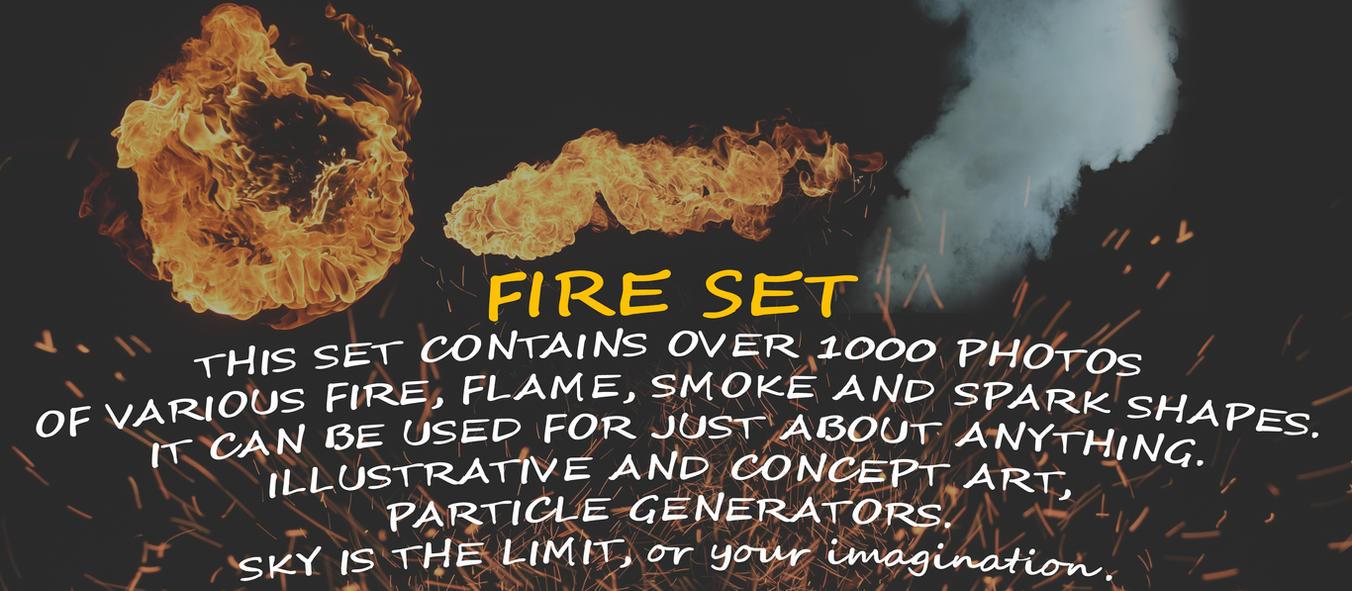 Fire Set by damir-g-martin