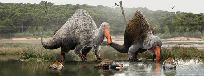 Deinocheirus family