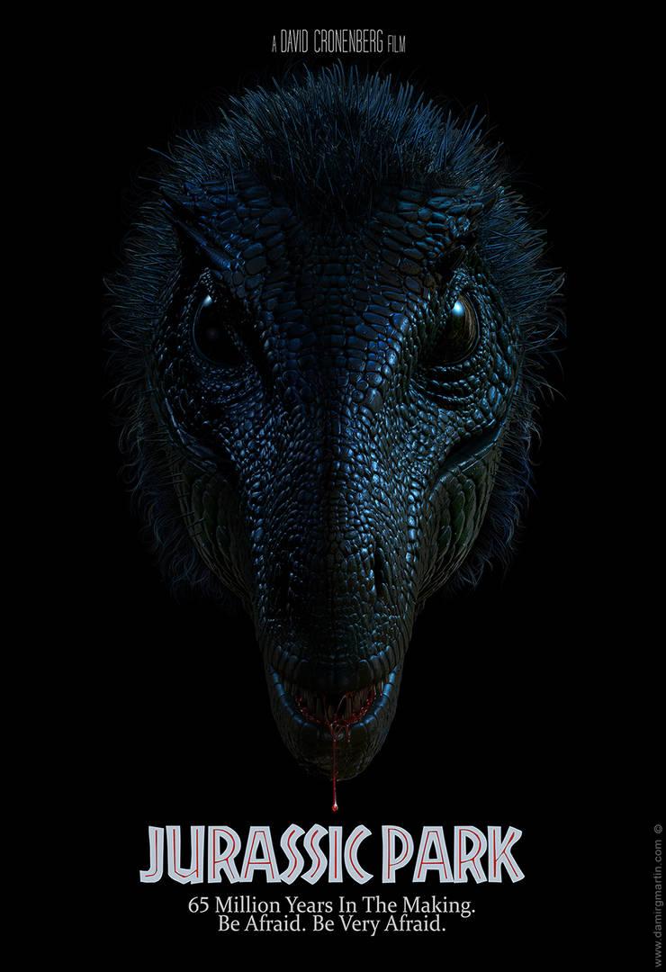 Jurassic Park: Alternative Poster by damir-g-martin