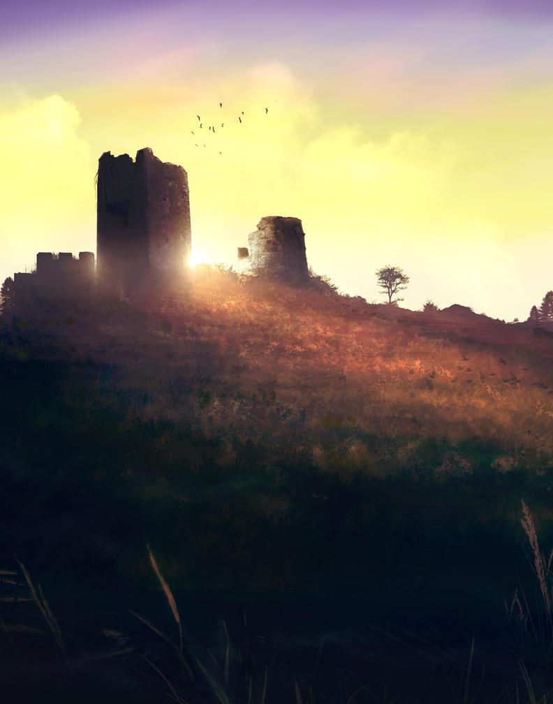 Moor Ruins by krenum