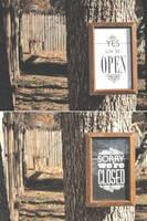 Open/Closed Door Sign