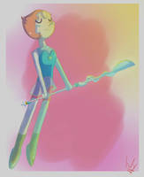 Steven Universe - Pearl by WasleyTheBronyCat