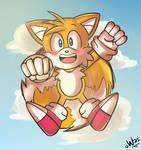 Classic cute flying fox