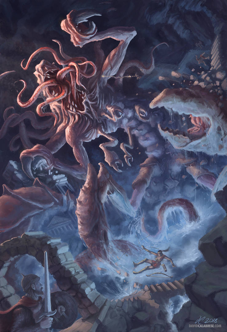 The Terror of Undermountain by calabresearts