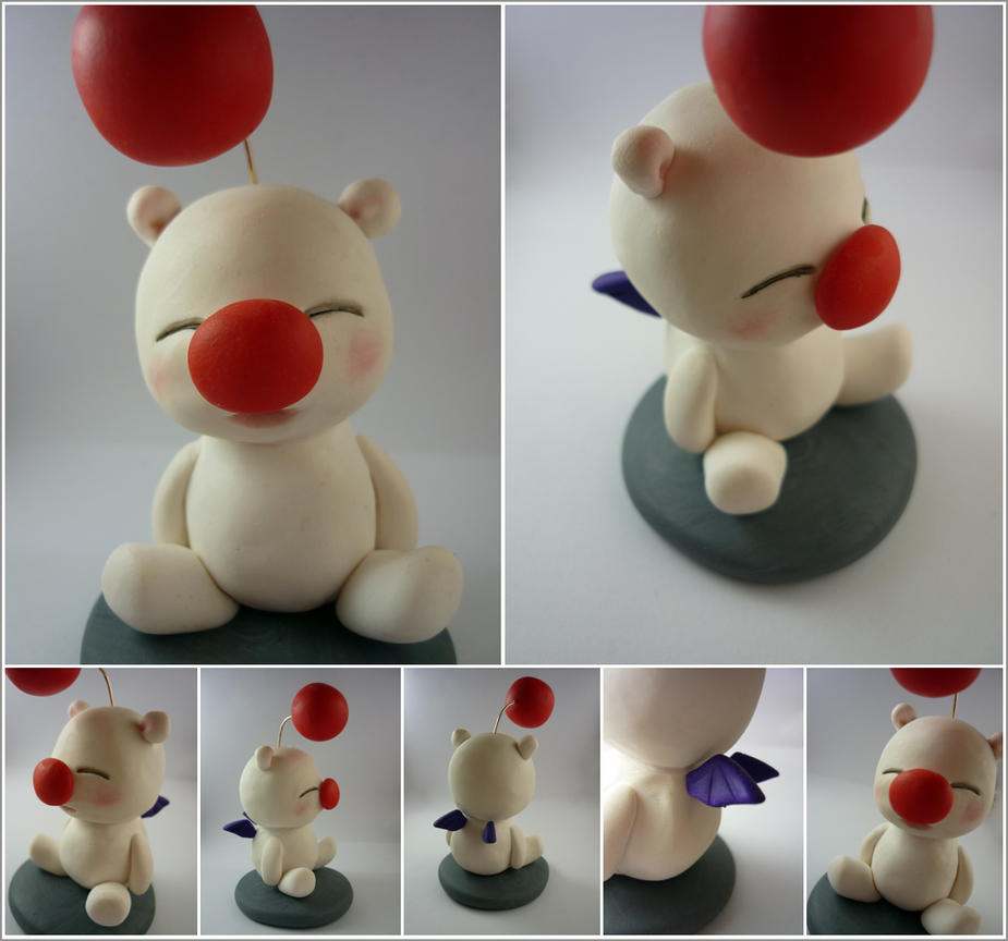 Moogle (Final Fantasy) by Elaiss-in-iceland