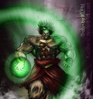 Dragon Ball - Legendary Broly by Kanthesis