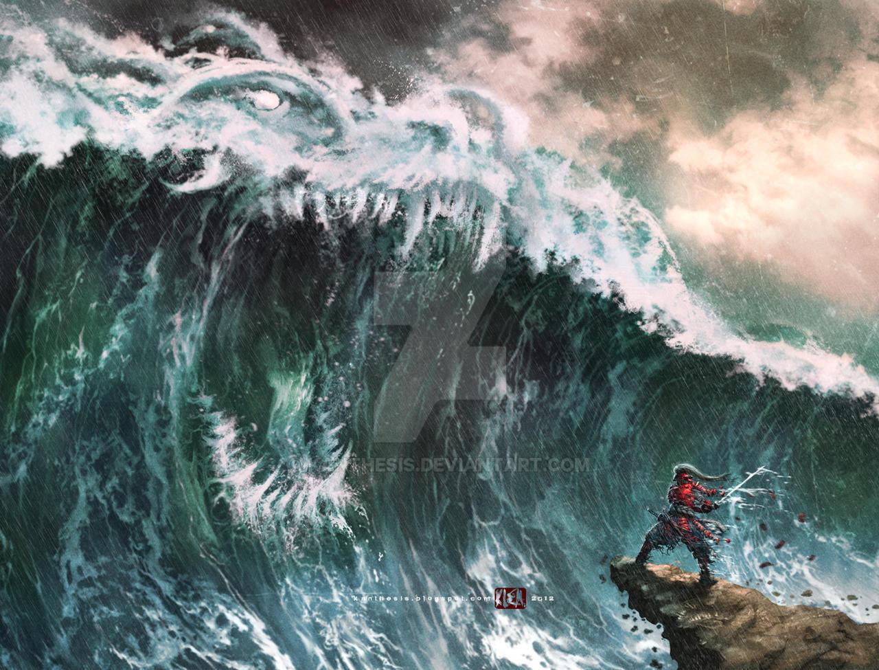 Ryujin Wave By Kanthesis On Deviantart