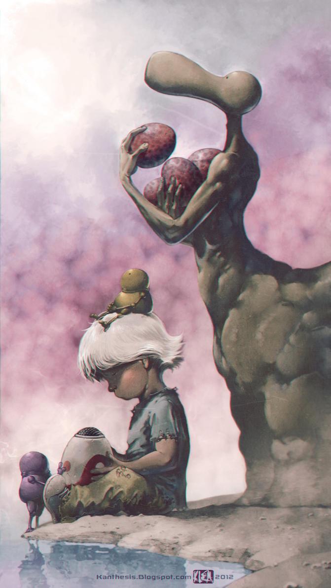 Les maitres du Temps - Moebius Hommage by Kanthesis