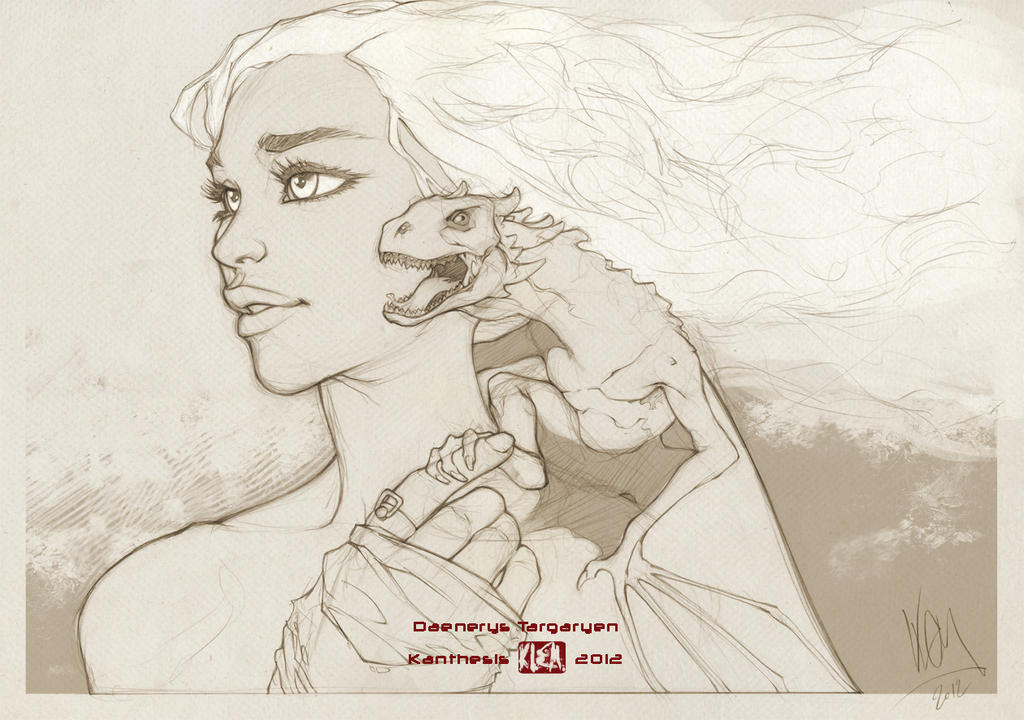 Game of Thrones - Daenerys by Kanthesis