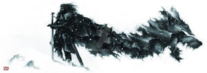 Game of Thrones - Winter Direwolf - Loup d'hiver