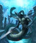 Shingeki no Bahamut - Merman Heavy Soldier