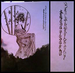 Ink Geisha by raquelilla