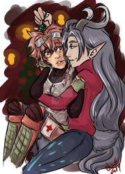 [QC] Under the Mistletoe