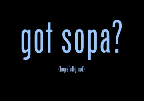 got sopa? by aid76