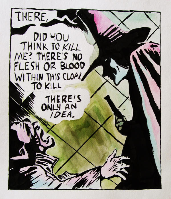V for Vendetta Comic by Samanthamum on DeviantArt
