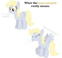 MLP:FiM - Pony Nose Scrunch by MasterXtreme