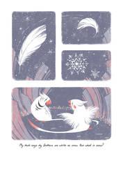 #11 - Snow - InkTober 2019 by Himmis