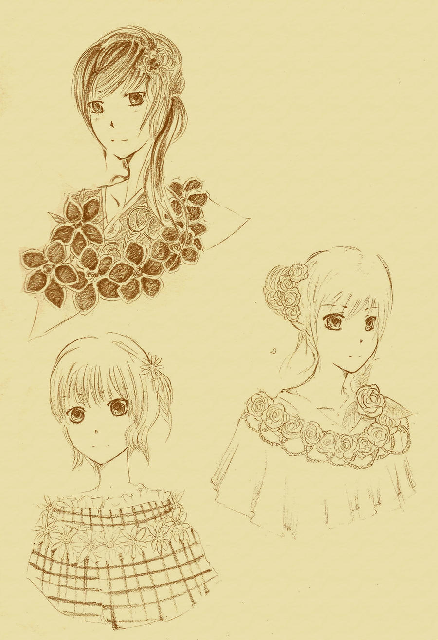 Flower Girls by Heurim