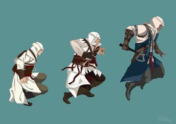 Assassin's Creed evolution