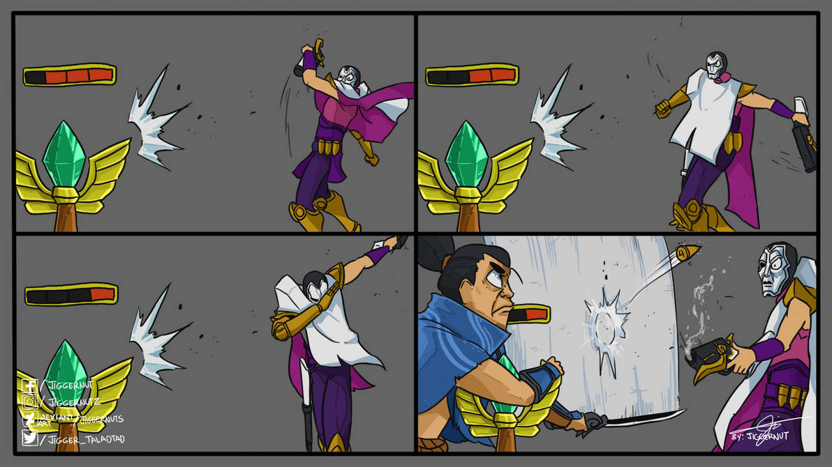 NOT THIS TIME JHIN! NOT THIS TIME! by JIGGERNUTS