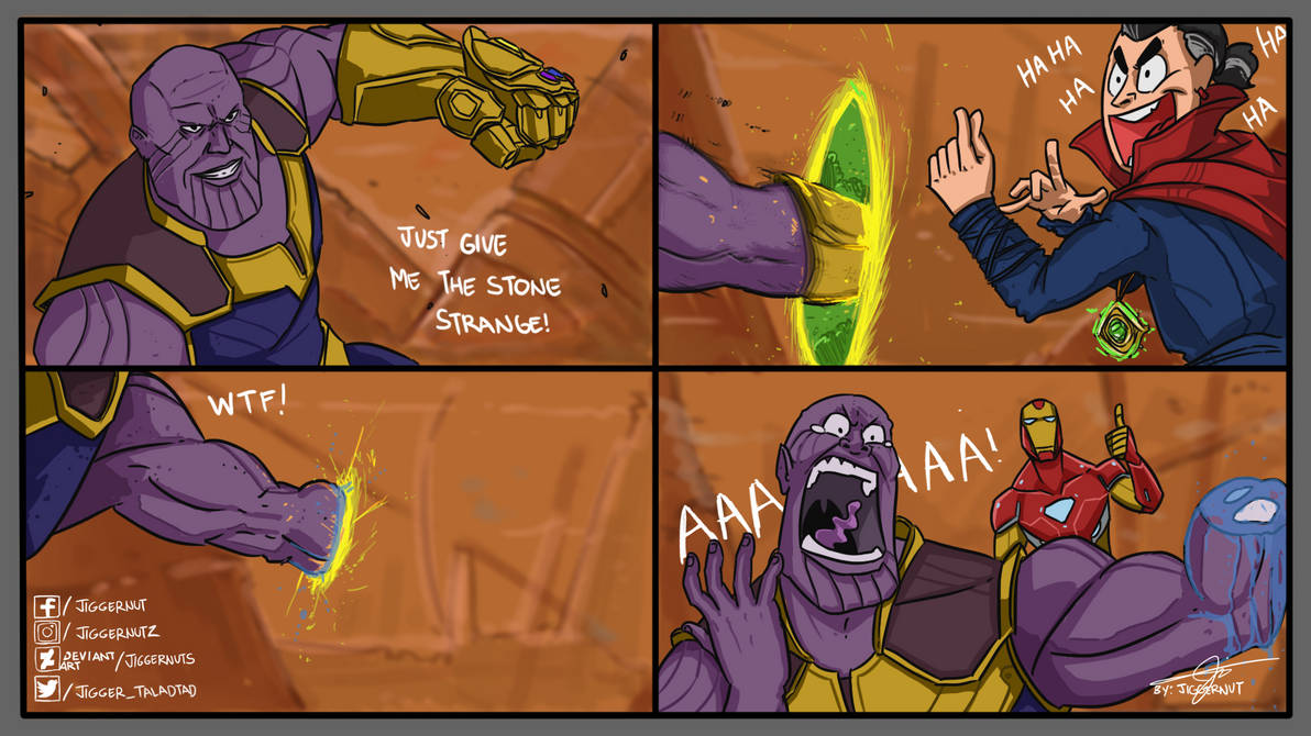 HOW AVENGERS INFINITY WARS  SHOULD HAVE ENDED by JIGGERNUTS
