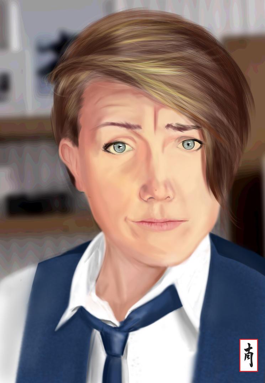 Hannah Hart from My Drunk Kitchen 2 by PassMeTheBamboo on DeviantArt