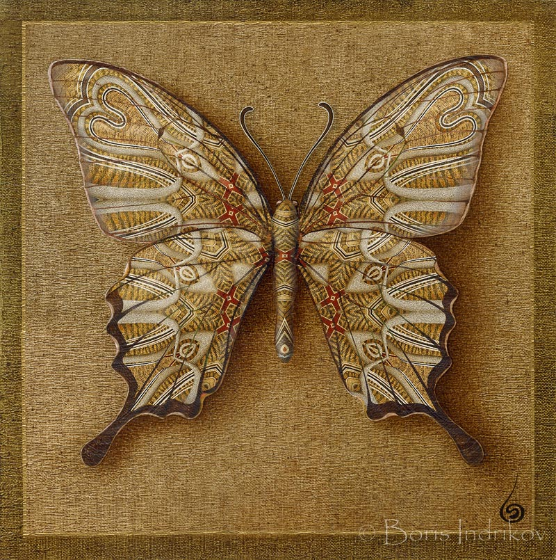 Symbol-Butterfly 2 by INDRIKoff