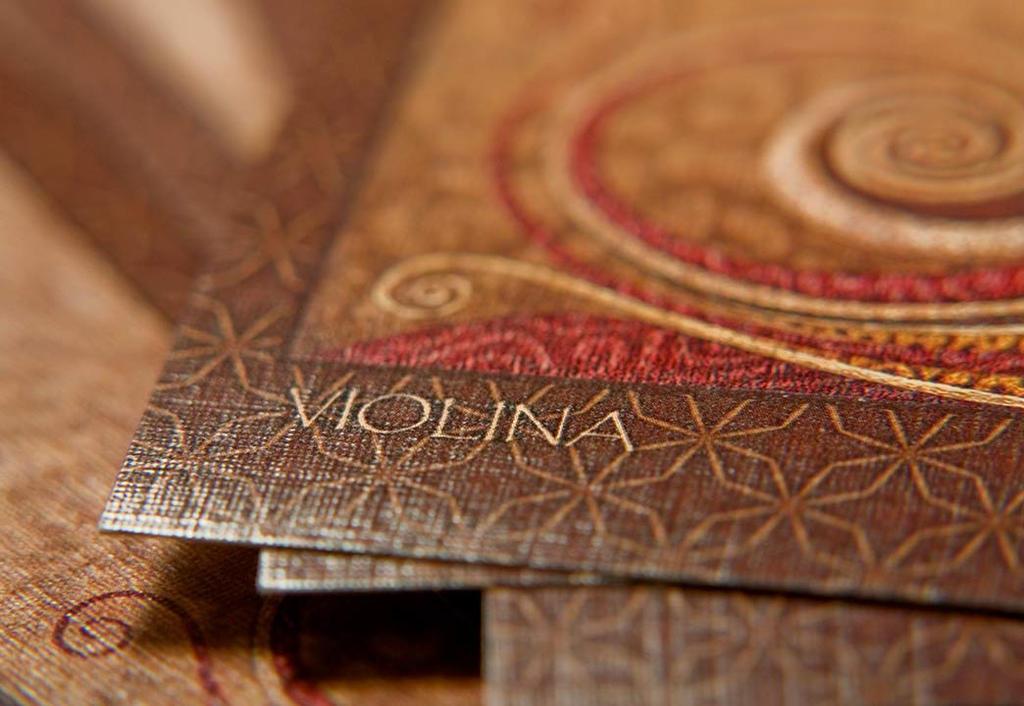 Violina card by INDRIKoff