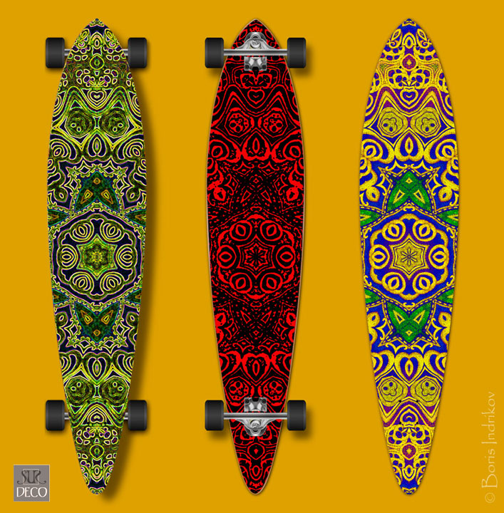 Longboard Sur-Deco CF-1 by INDRIKoff