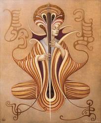 Sarasvati Dreams by INDRIKoff