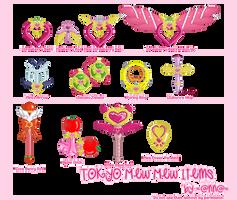Tokyo Mew Mew Items by kellymcdonald