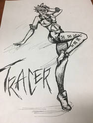 T-racer by PeaceArtAndZombies