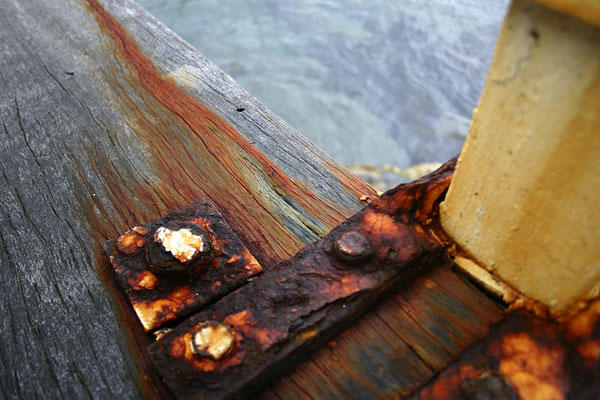Tathra Wharf Abstract no.1 by der-morgen