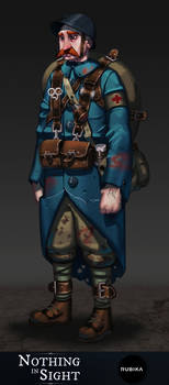 Nothing In Sight Final Character concept