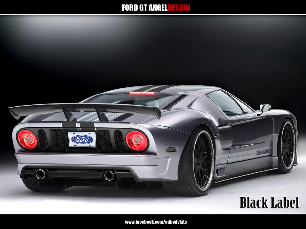 Ford Gt Angeldesign Rear View By Adbodykits