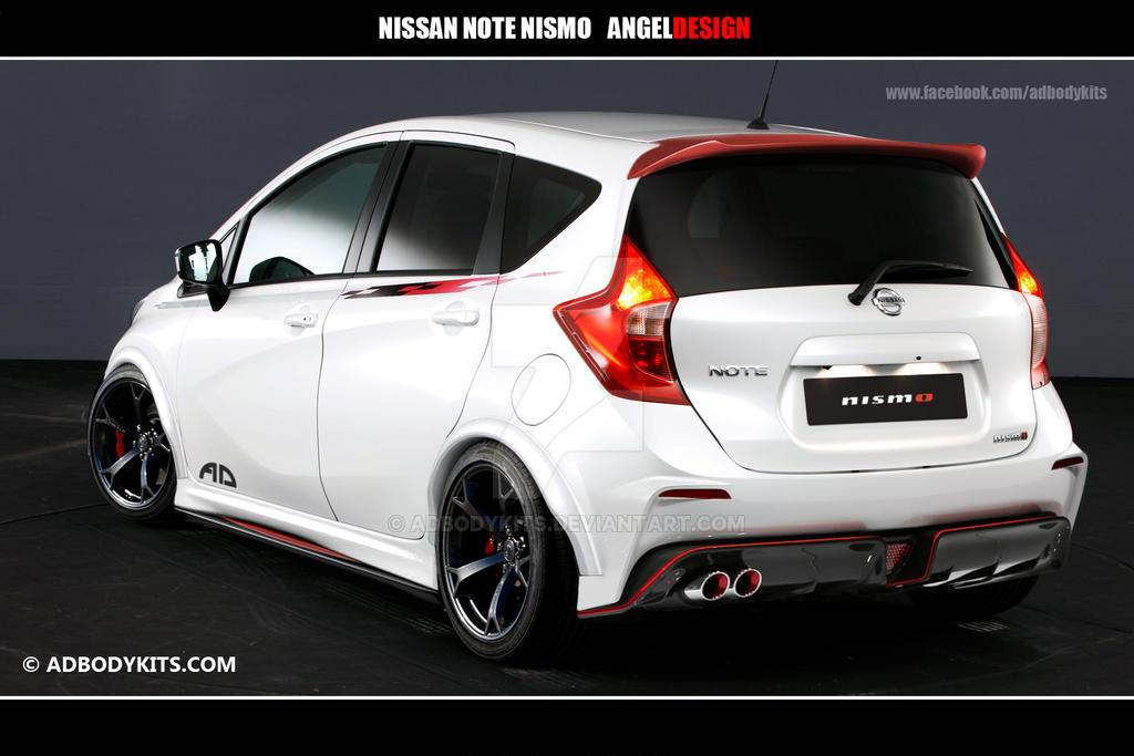 Nissan Note Nismo Rear By Adbodykits On Deviantart