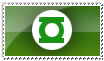 Green Lantern Stamp by AndrewJHarmon